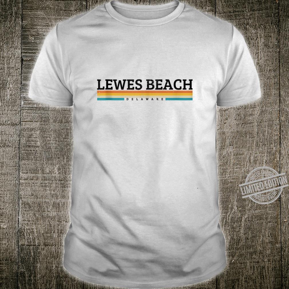 Lewes Beach Delaware Retro Vintage Souvenir Shirt