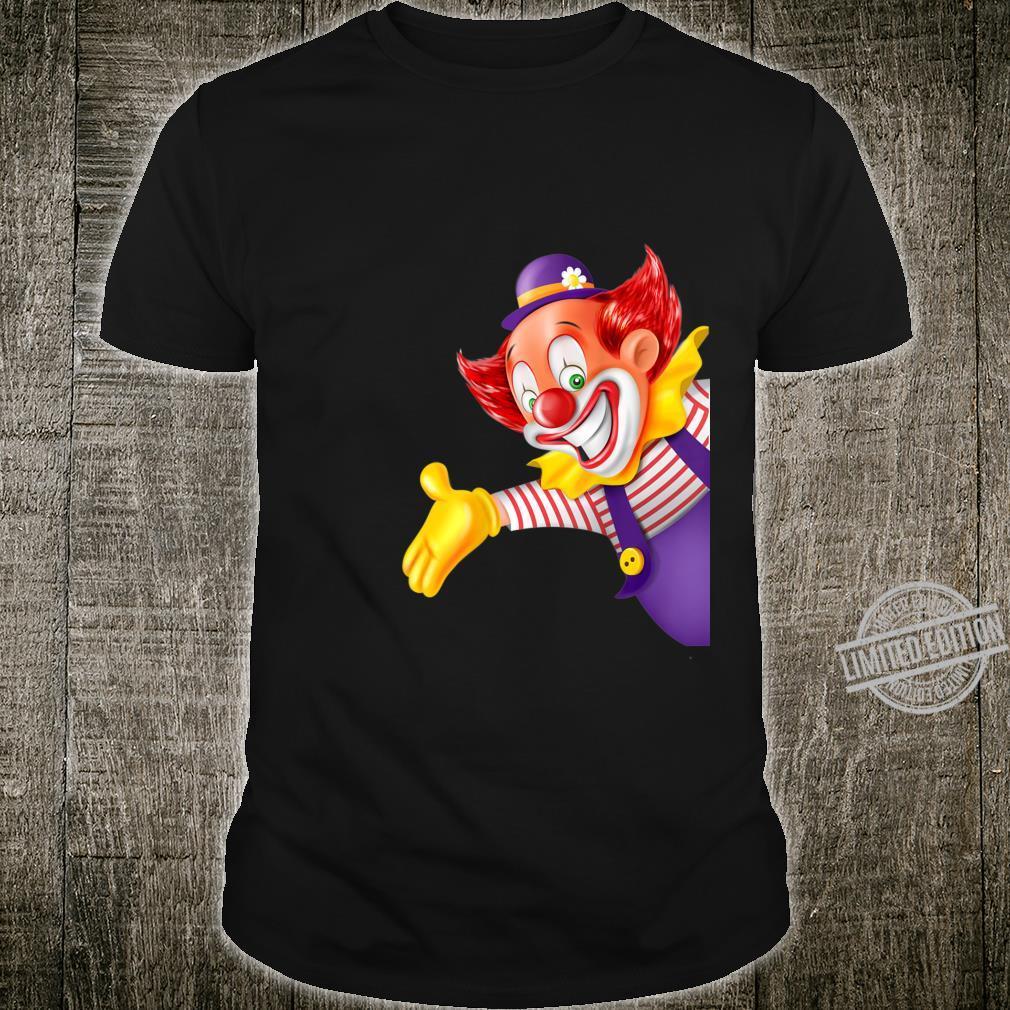 Lustiges Karneval Clown Kostüm Faschings Shirt
