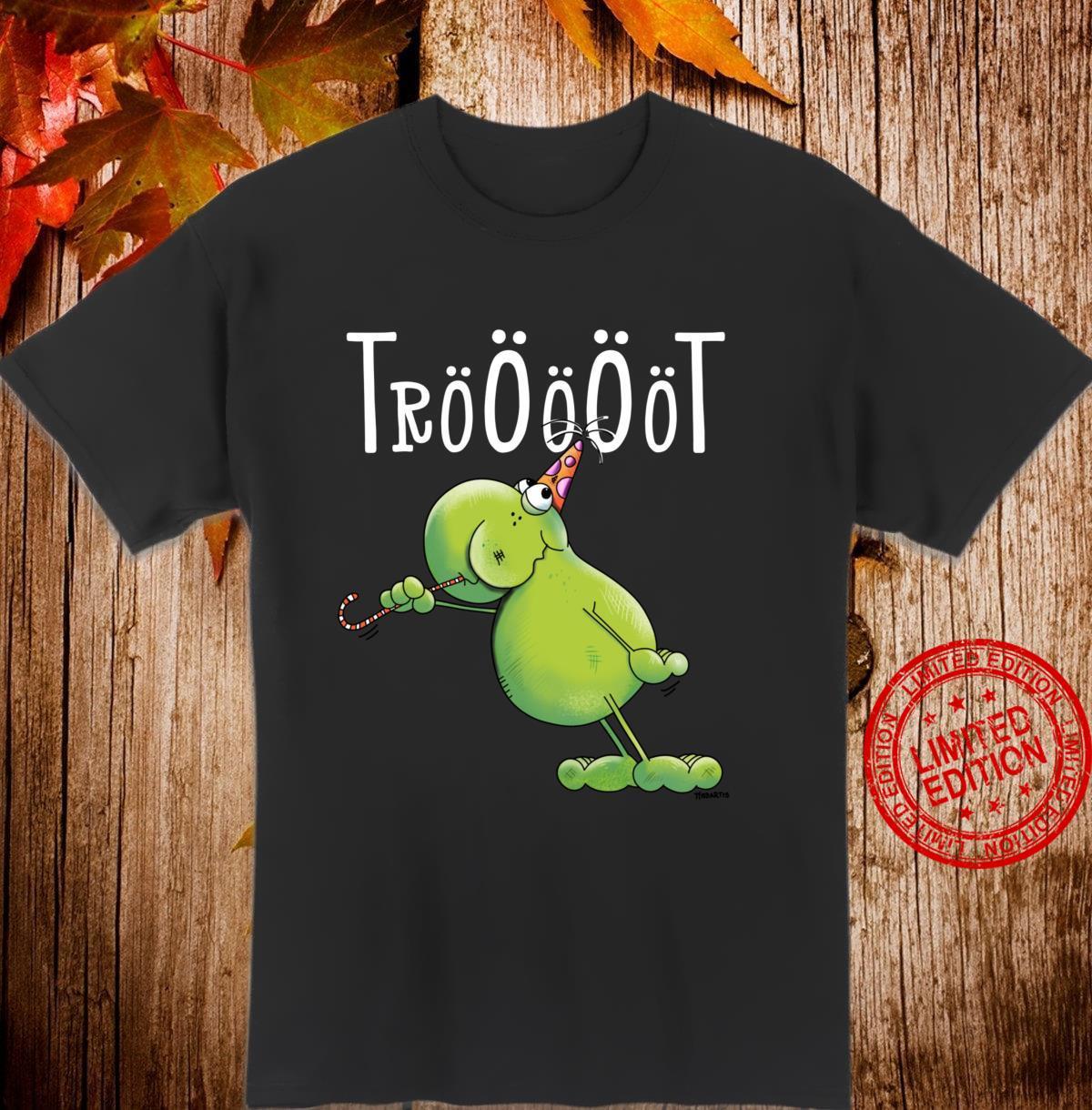 Lustiges Party Frosch Design Karneval Geburtstag Fun Langarmshirt Shirt
