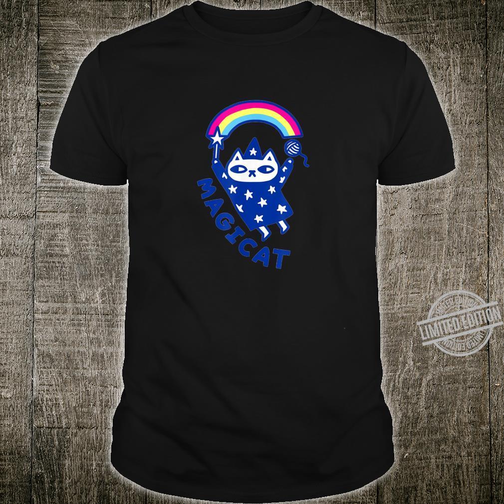 Magic Cat Rainbow Shirt