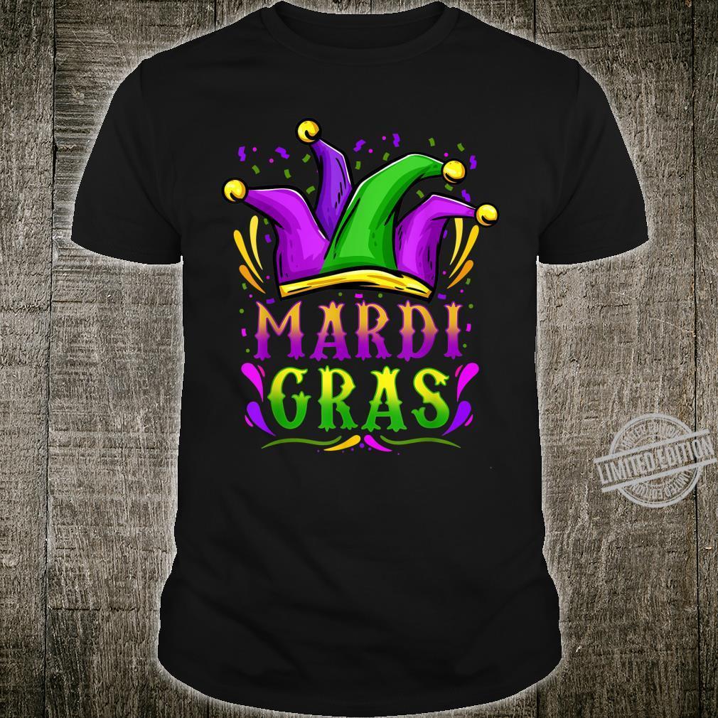 Mardi Gras Party Hat Shirt