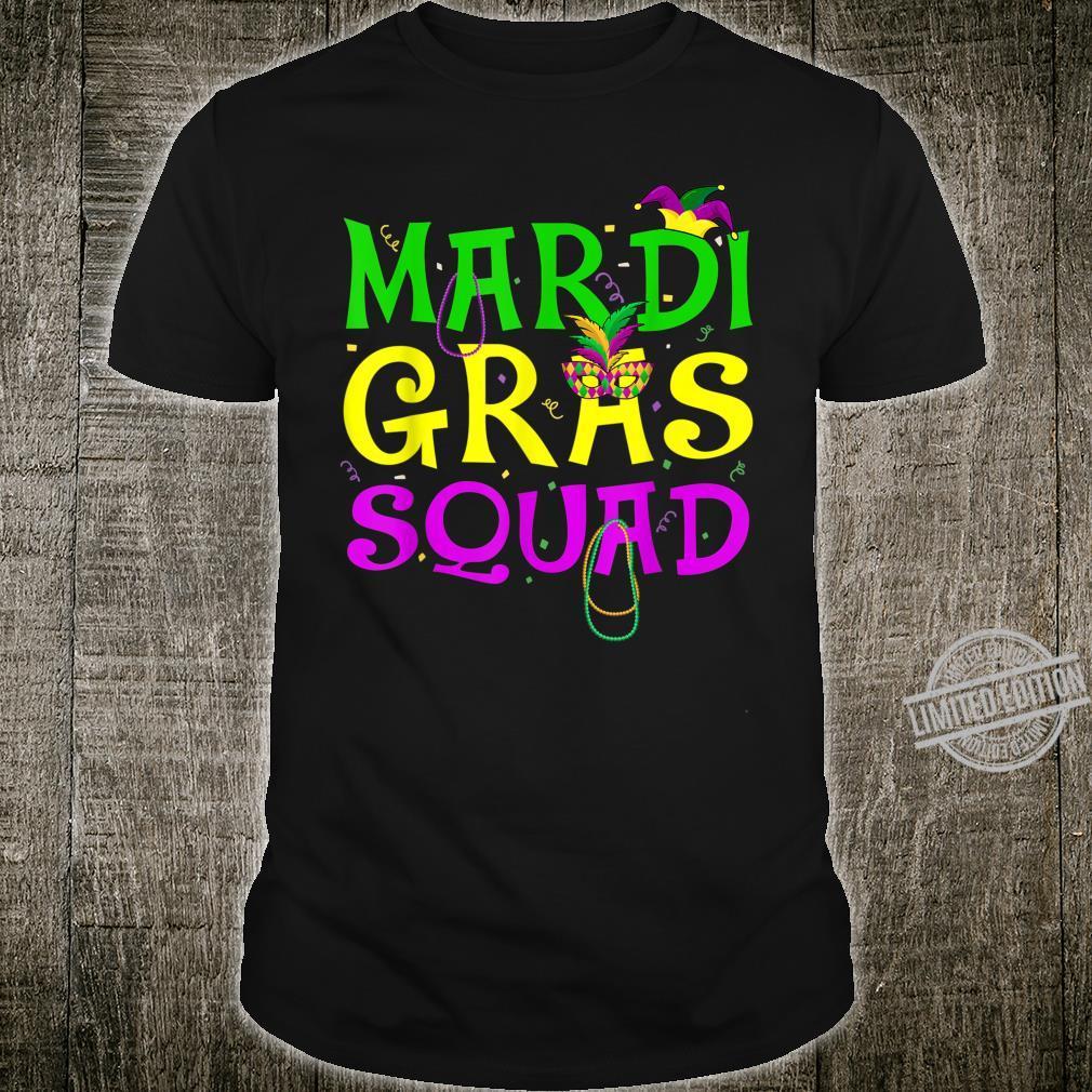 Mardi Gras Squad Carnival Shirt