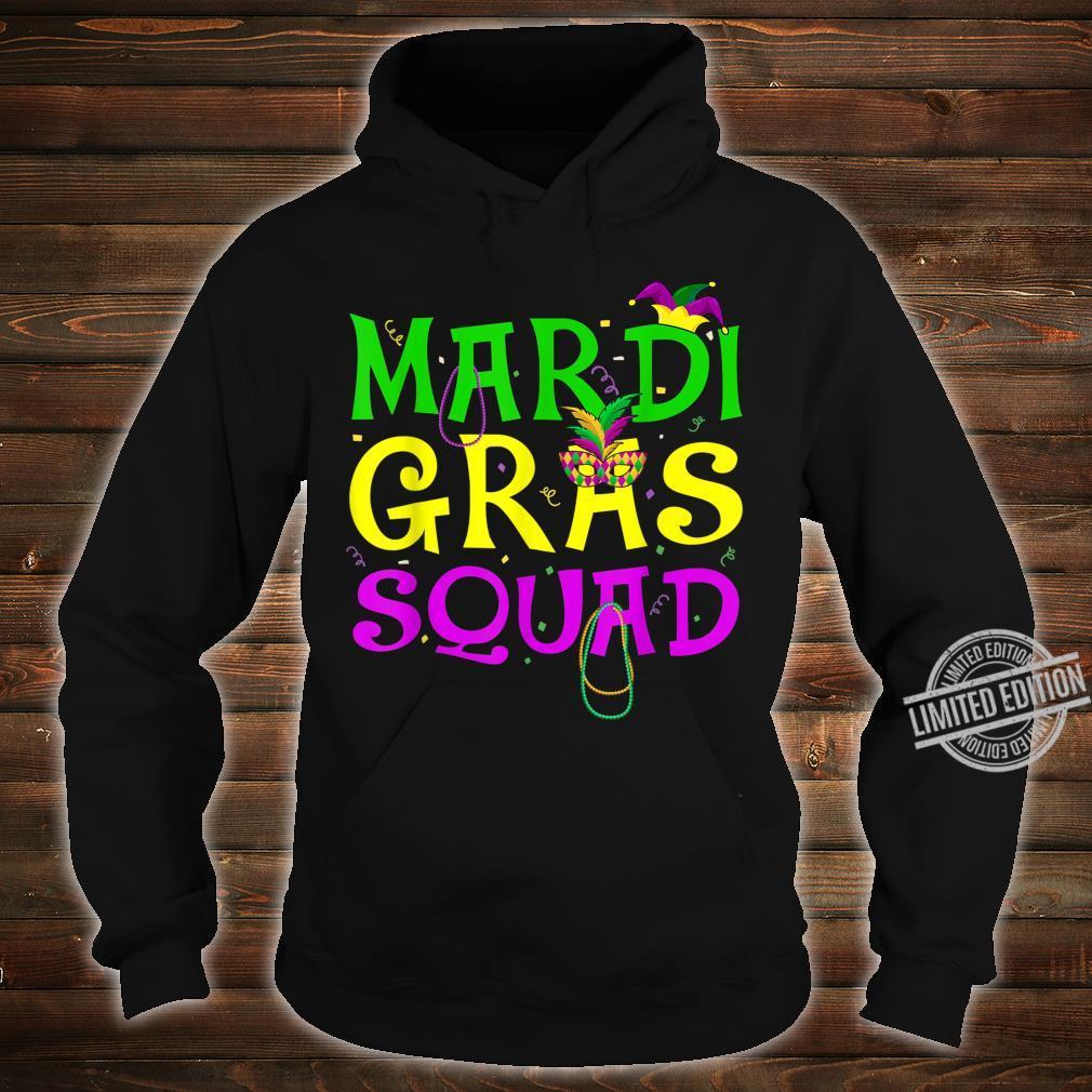 Mardi Gras Squad Carnival Shirt hoodie