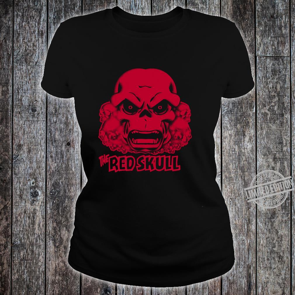 Marvel Hydra The Red Skull Large Chest Langarmshirt Shirt ladies tee