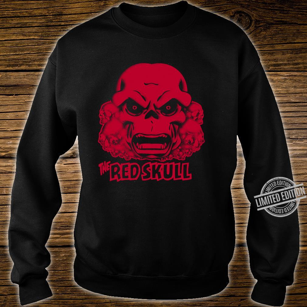 Marvel Hydra The Red Skull Large Chest Langarmshirt Shirt sweater