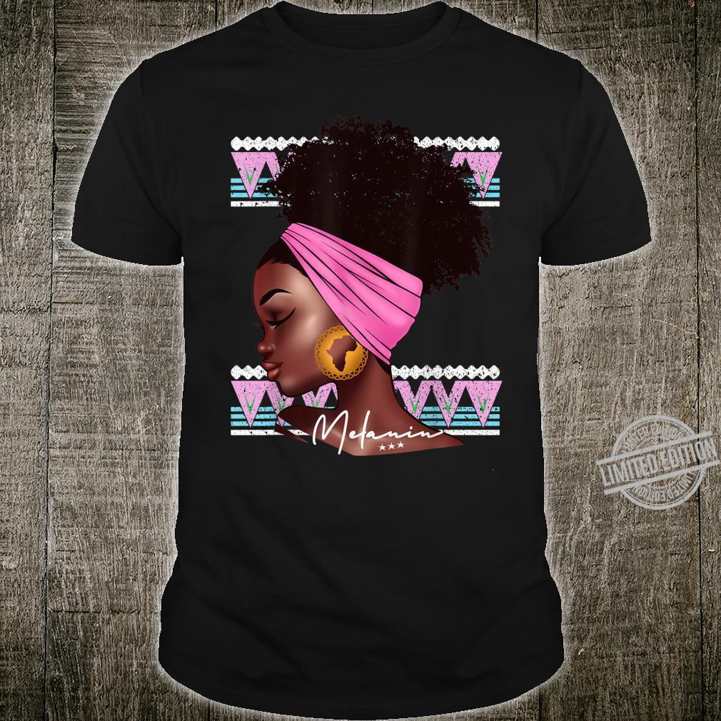 Melanin Afro Natural Hair African American Shirt