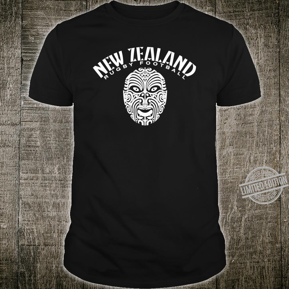 New Zealand Rugby Football Tribal Shirt