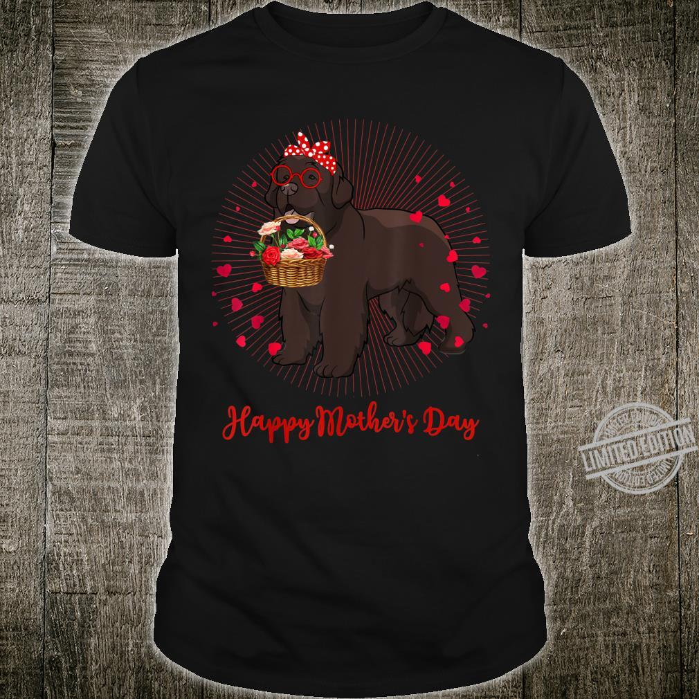 Newfoundland Shirt Newfoundland Dog Mother's Day Shirt