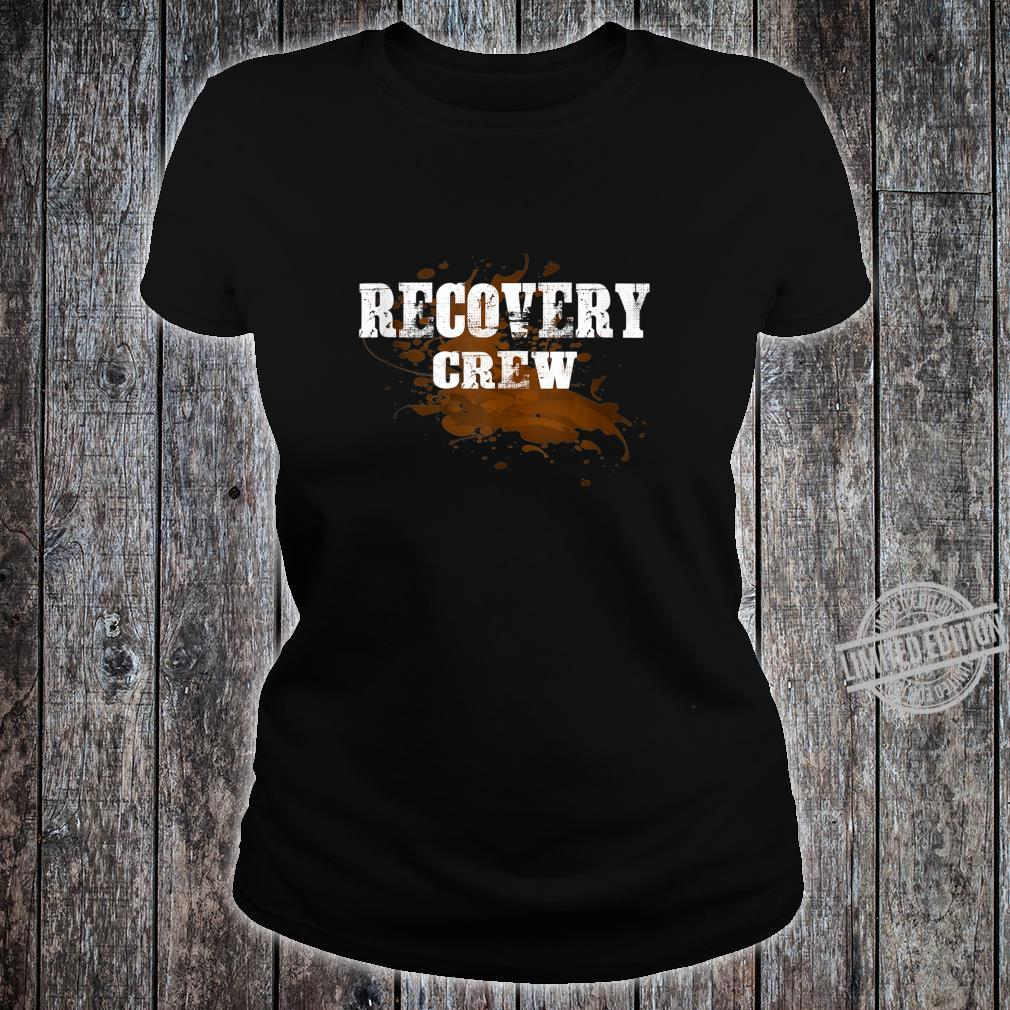 Off Road Retro Style 4x4 Shirt ladies tee