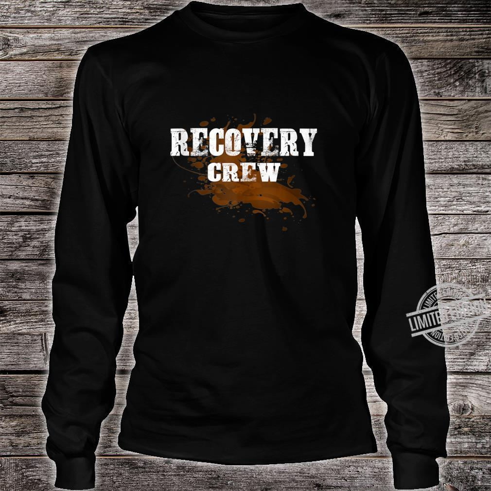 Off Road Retro Style 4x4 Shirt long sleeved