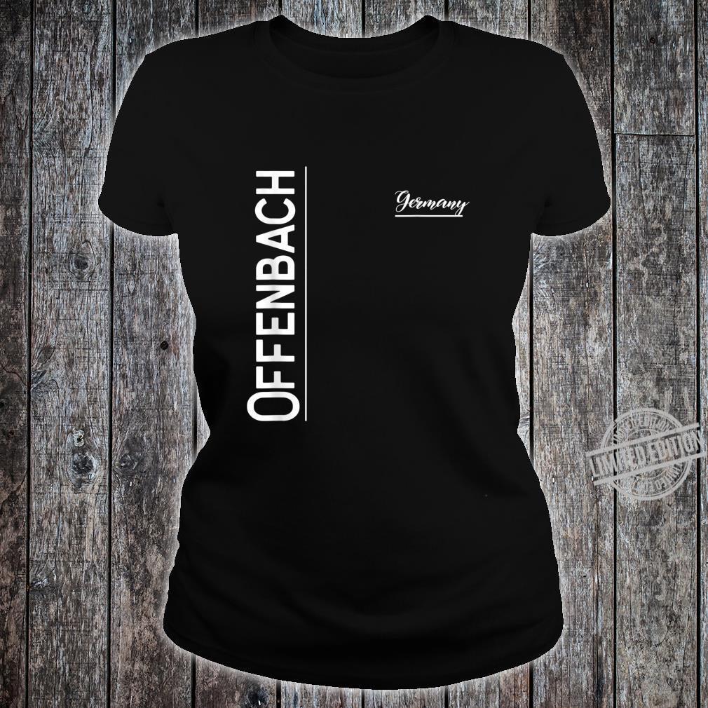 Offenbach, Deutschland Shirt ladies tee