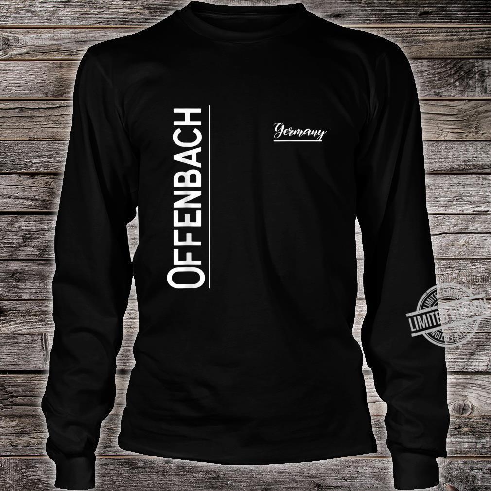 Offenbach, Deutschland Shirt long sleeved