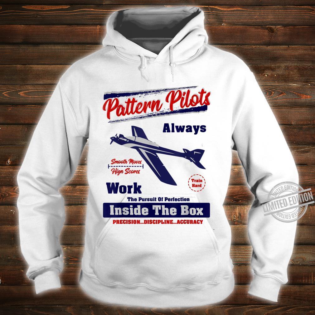 Pattern RC Airplane Pilots Work Inside The Box Shirt hoodie