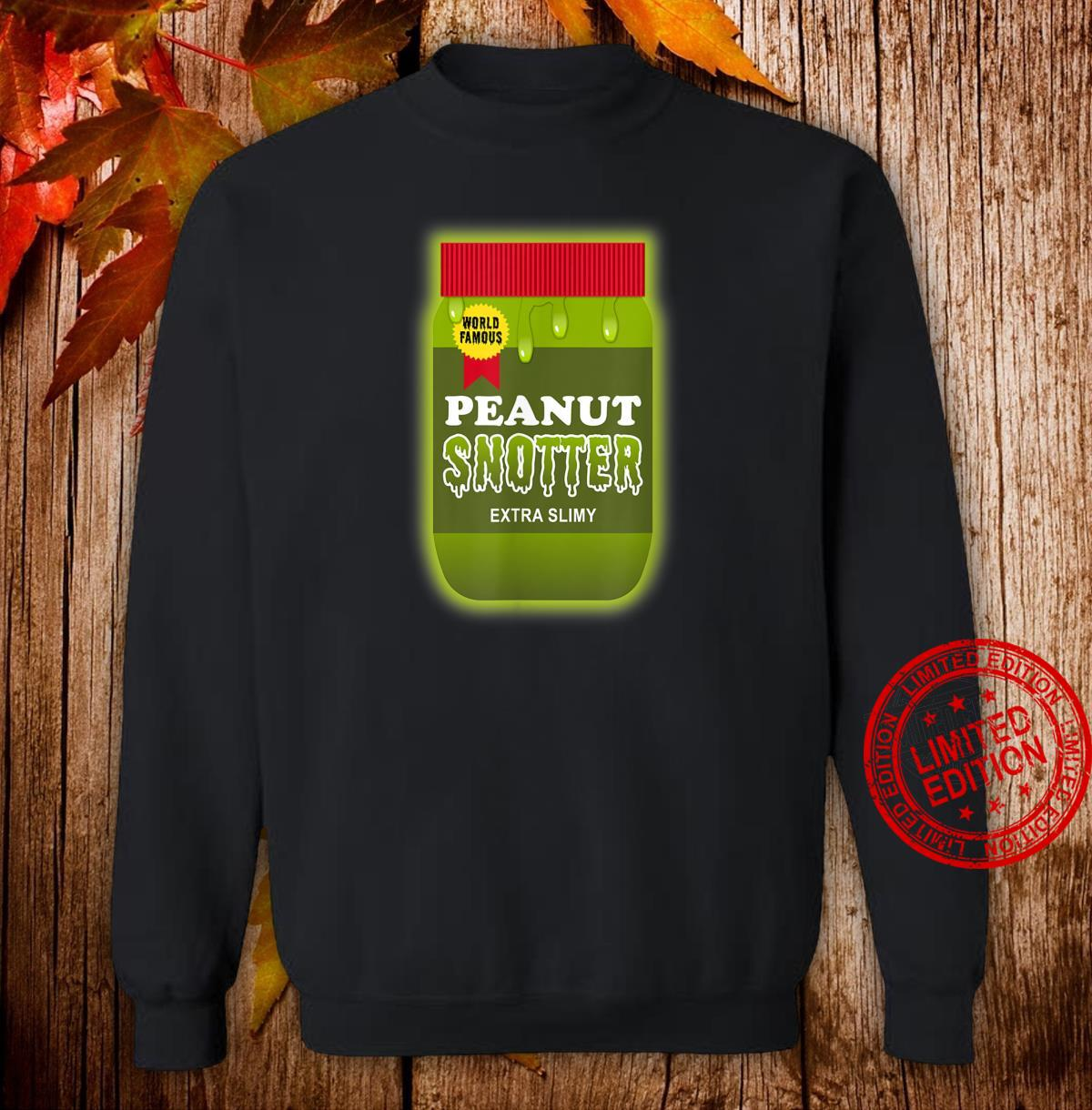 Peanut Butter Halloween Costume Disgusting Nostalgia Shirt sweater