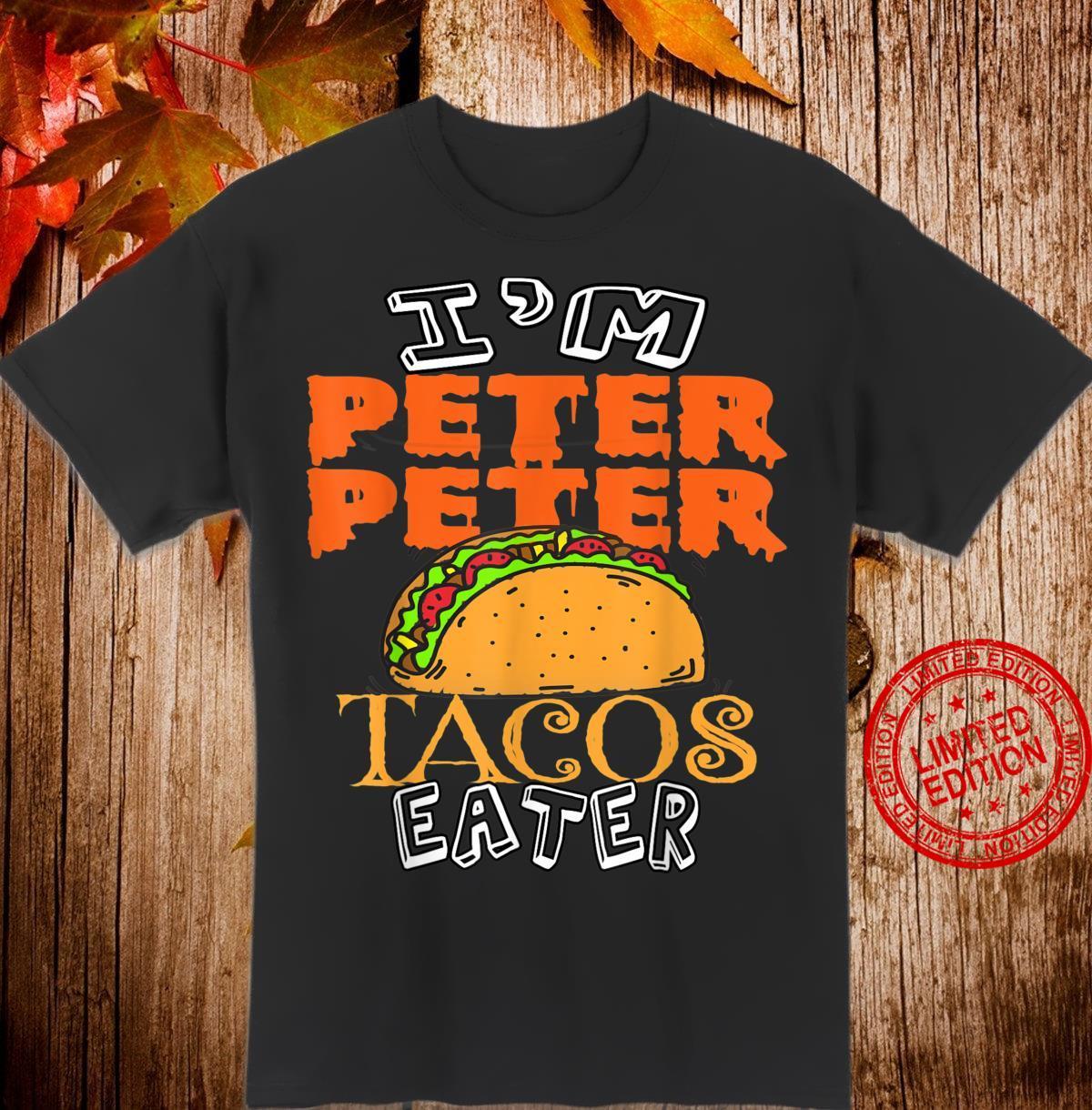 Peter peter halloween costumes Taco Shirt