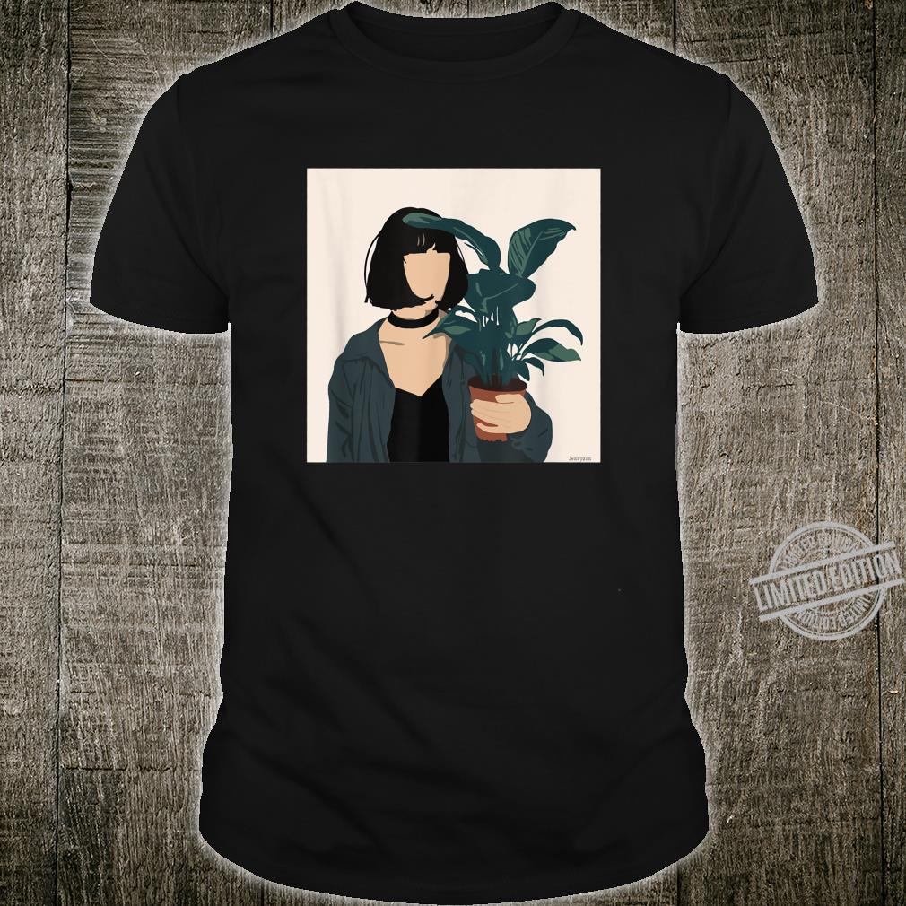 Pflanzenliebe, Illustration Shirt