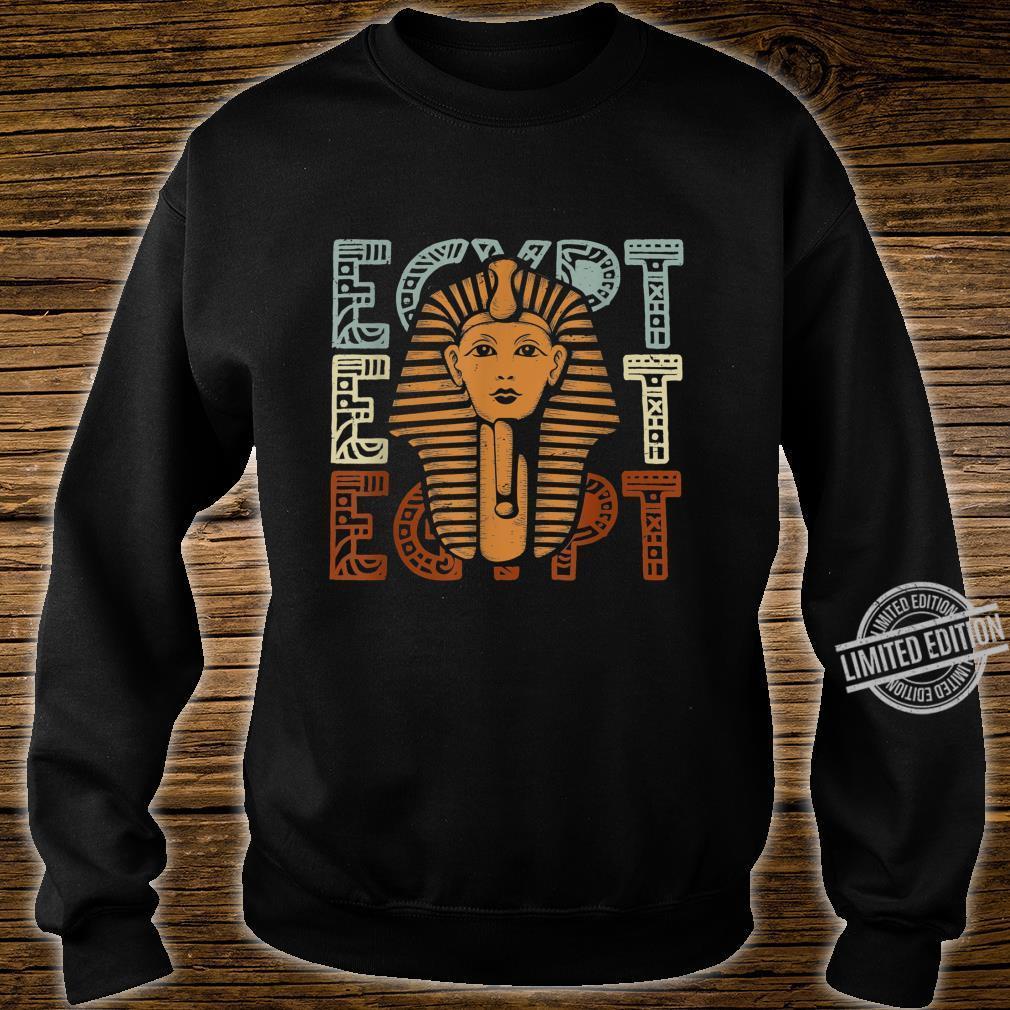 Pharaoh Cairo Pyramids Egypt Shirt sweater