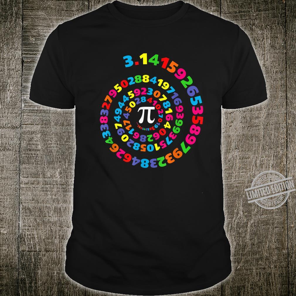 Pi 3.14 Circle Maths Teaching Shirt
