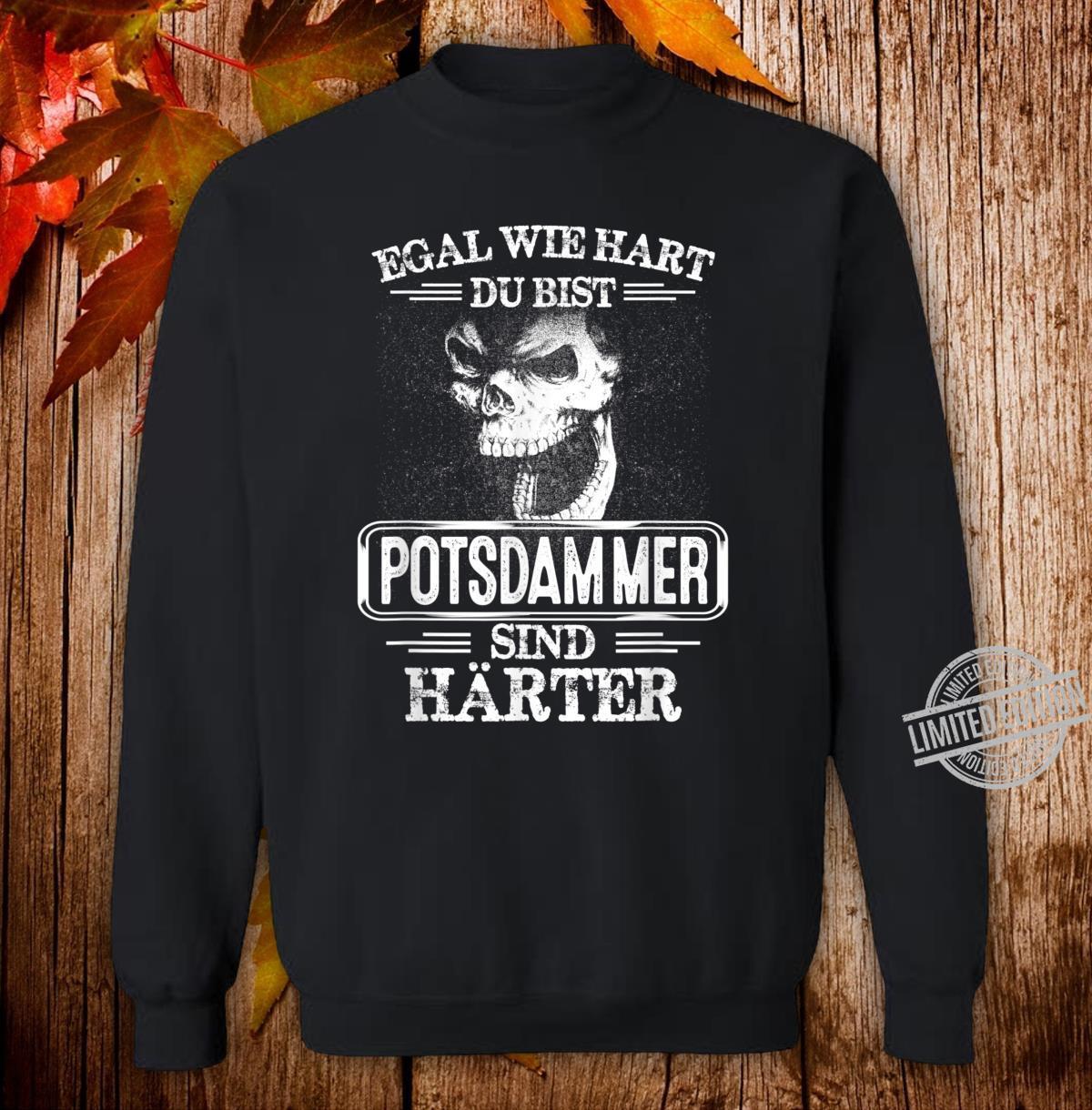 Potsdammer sind härter Städte Kleidung Stadt Potsdamm Shirt sweater