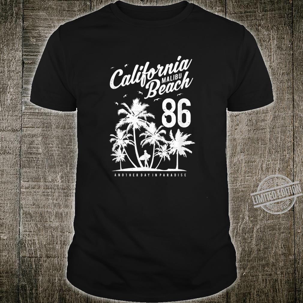Retro California Mailbu Beach Surfers Shirt