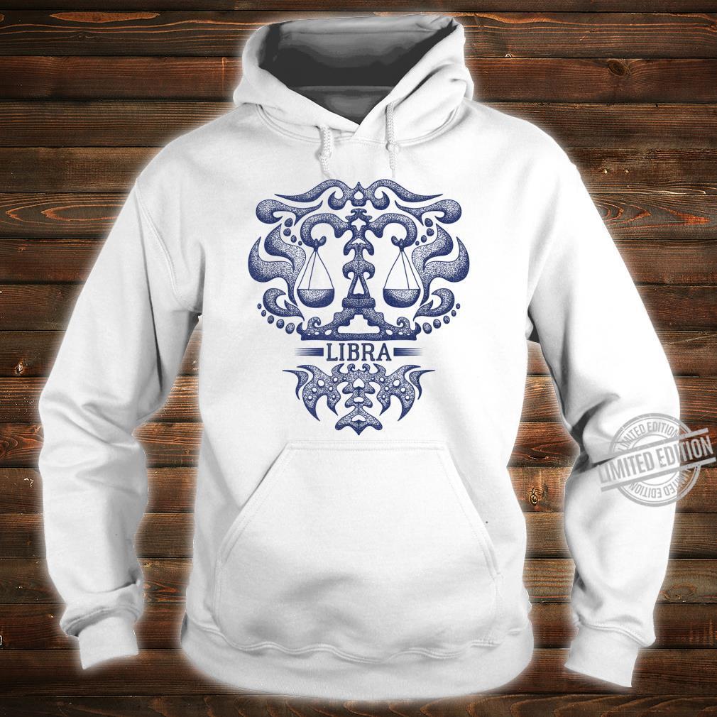 Retro Libra Zodiac Birthday Vintage Zodiac Sign Shirt hoodie