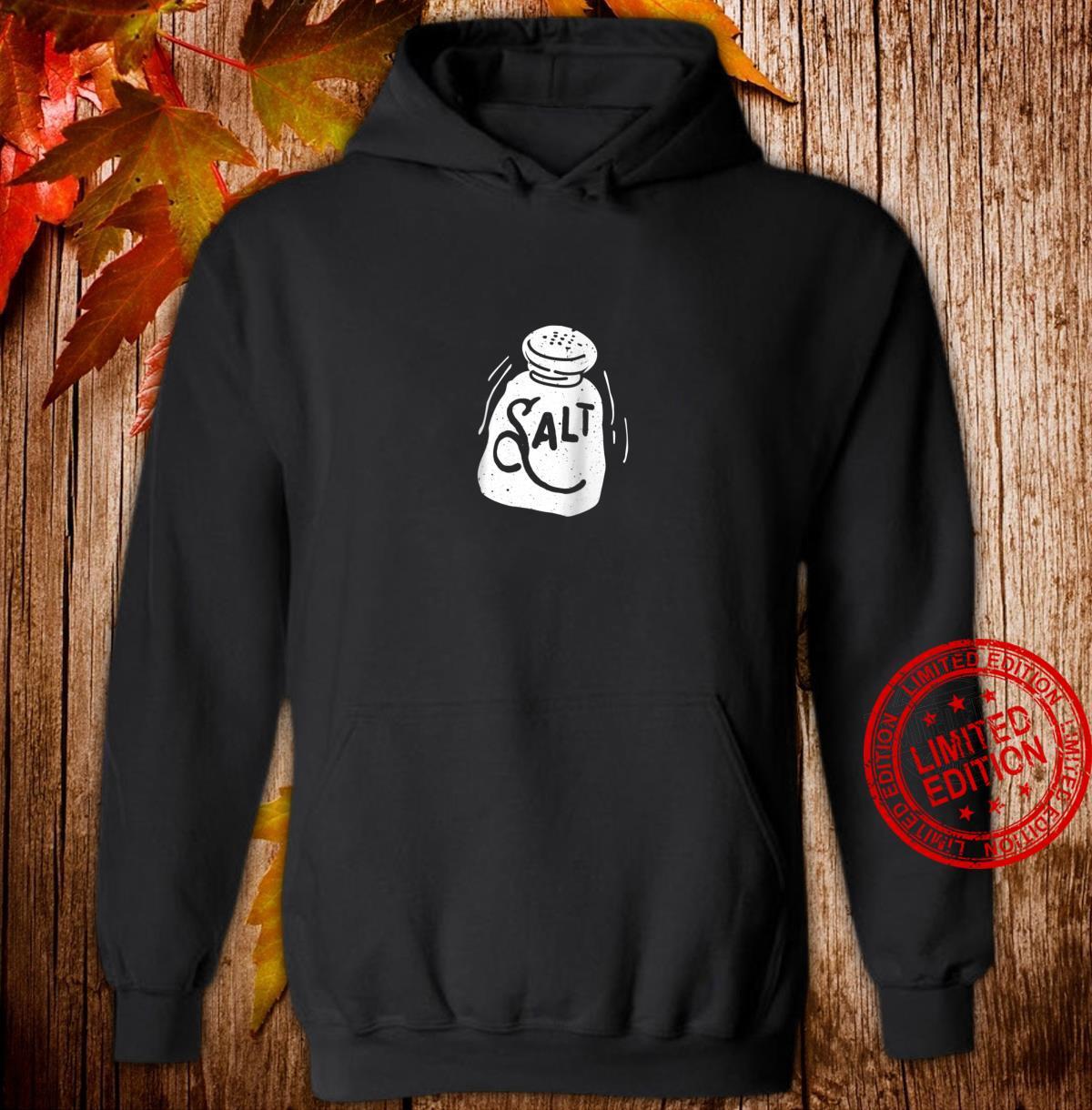 'Salt and Pepper' Shaker Matching Halloween Costume Shirt hoodie