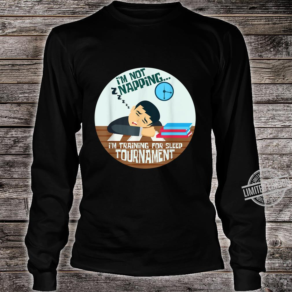 Sleep Lazy Person Or Loves To Sleep Shirt long sleeved