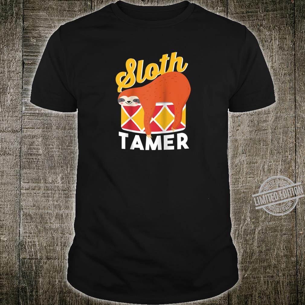 Sloth Tamer Spirit Animal Cute Baby Sloth Pet Shirt