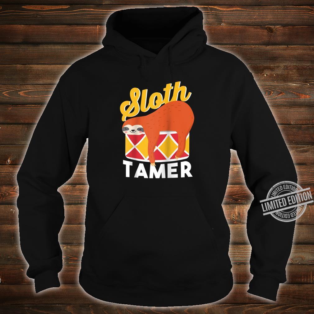 Sloth Tamer Spirit Animal Cute Baby Sloth Pet Shirt hoodie
