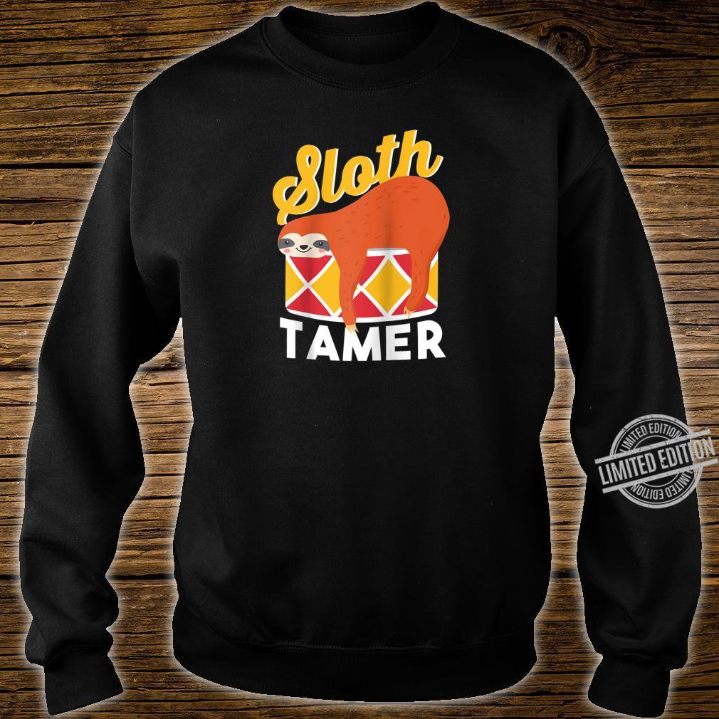 Sloth Tamer Spirit Animal Cute Baby Sloth Pet Shirt sweater