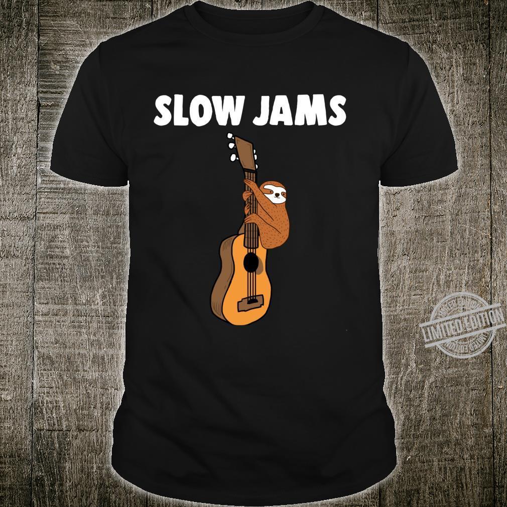 Slow Jams Sloth Shirt