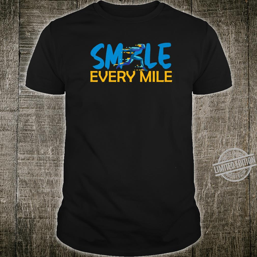 Smile Every Mile cross country track running jogger Shirt