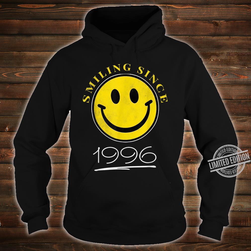 Smiling Since 1996 24th Birthday 24 Year Old Emoji Shirt hoodie