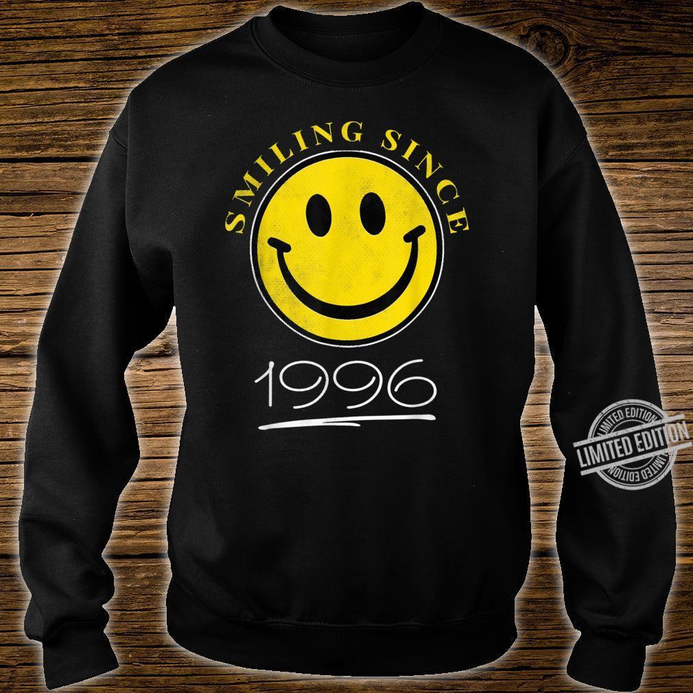 Smiling Since 1996 24th Birthday 24 Year Old Emoji Shirt sweater