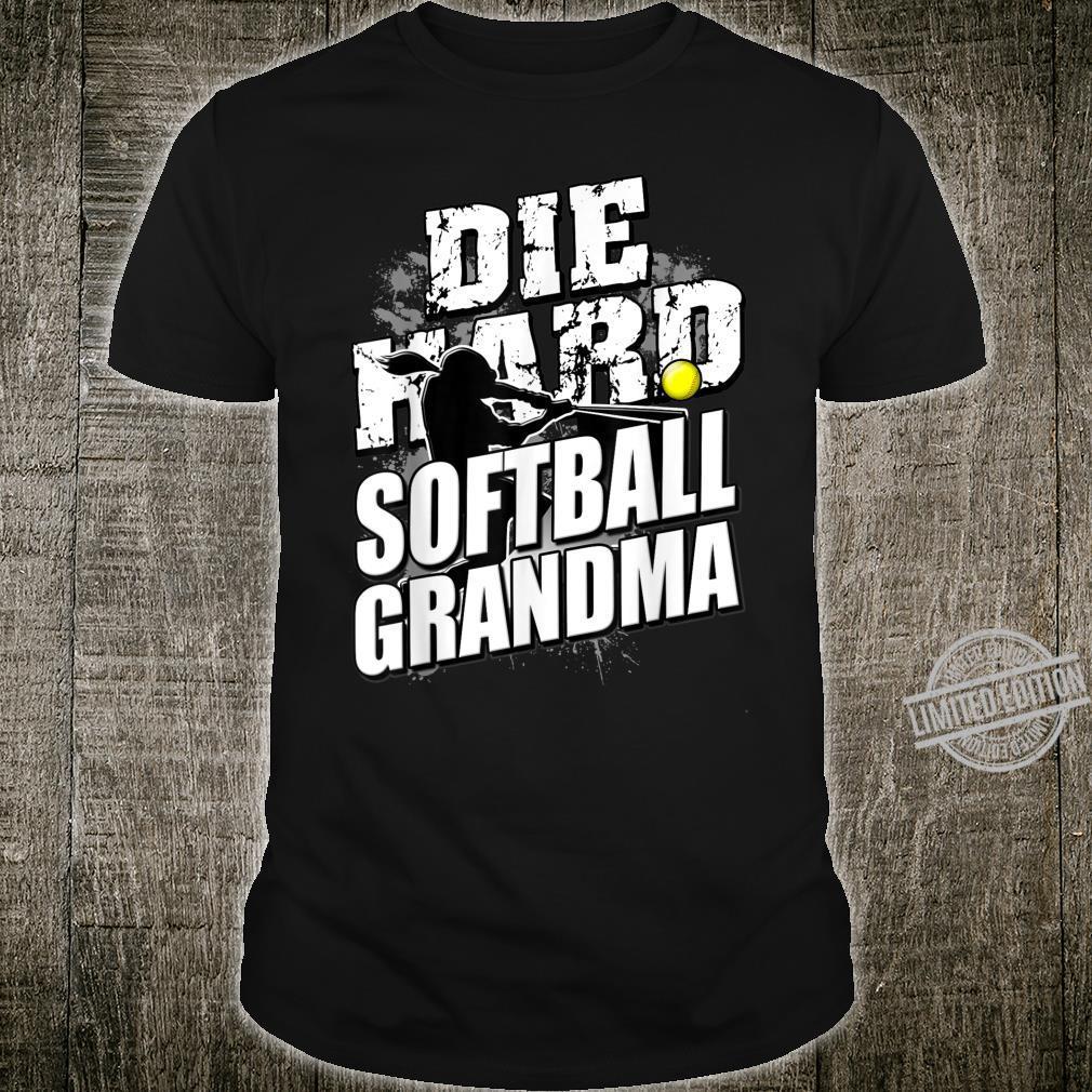 Softball Grandma Girls Grandparents Day Shirt