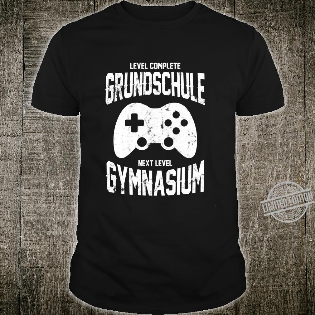 Spieler Einschulung Grundschule Gymnasium 5. Klasse Gaming Langarmshirt Shirt