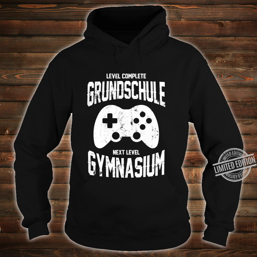 Spieler Einschulung Grundschule Gymnasium 5. Klasse Gaming Langarmshirt Shirt hoodie