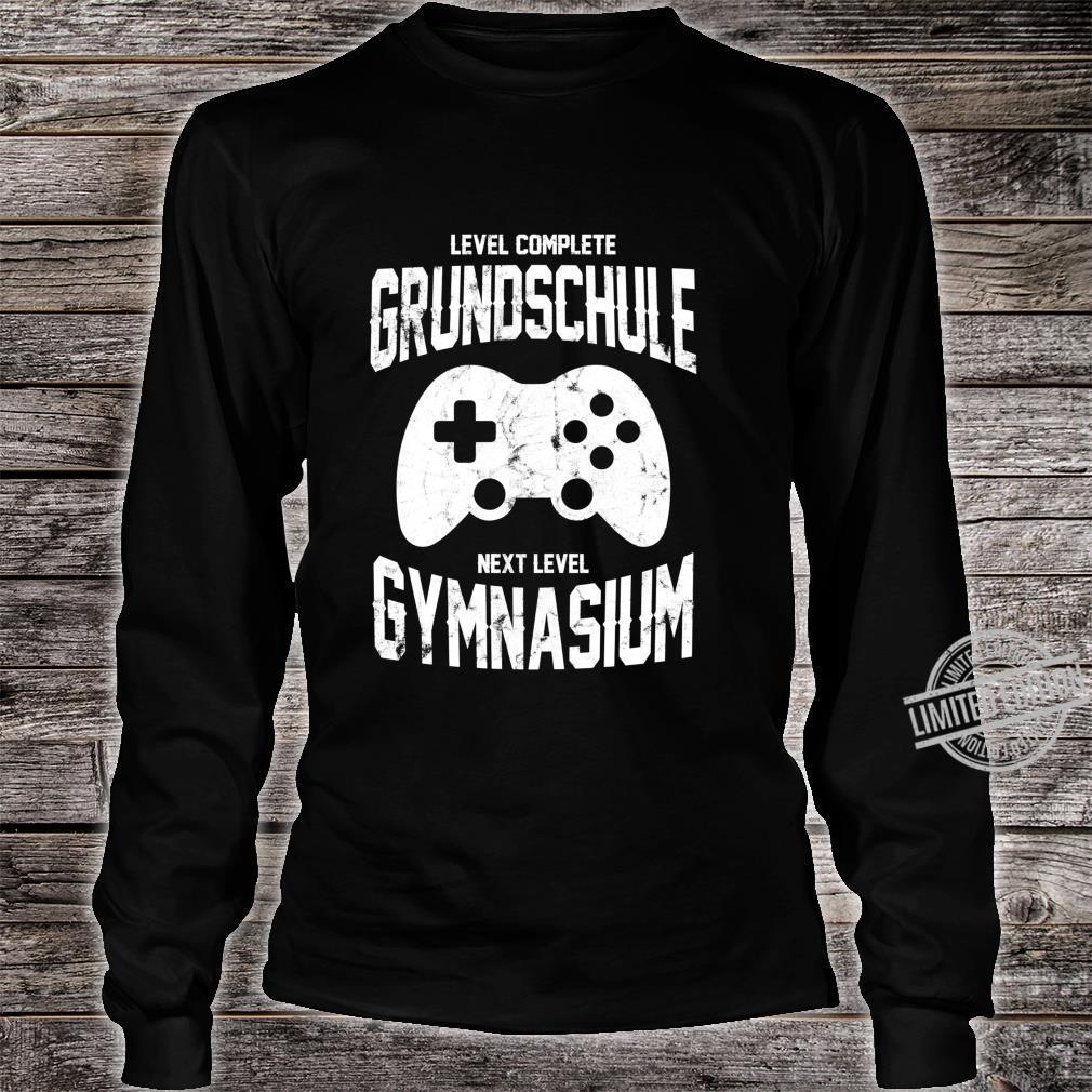 Spieler Einschulung Grundschule Gymnasium 5. Klasse Gaming Langarmshirt Shirt long sleeved