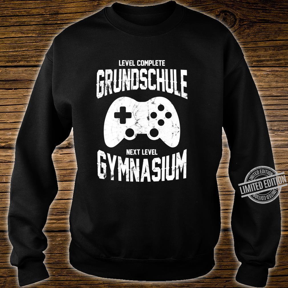 Spieler Einschulung Grundschule Gymnasium 5. Klasse Gaming Langarmshirt Shirt sweater