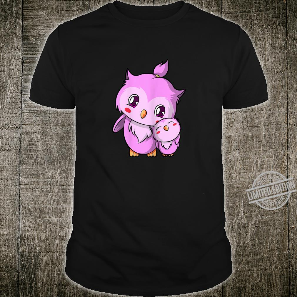 Sweet cuddling Owls for children and couples Shirt