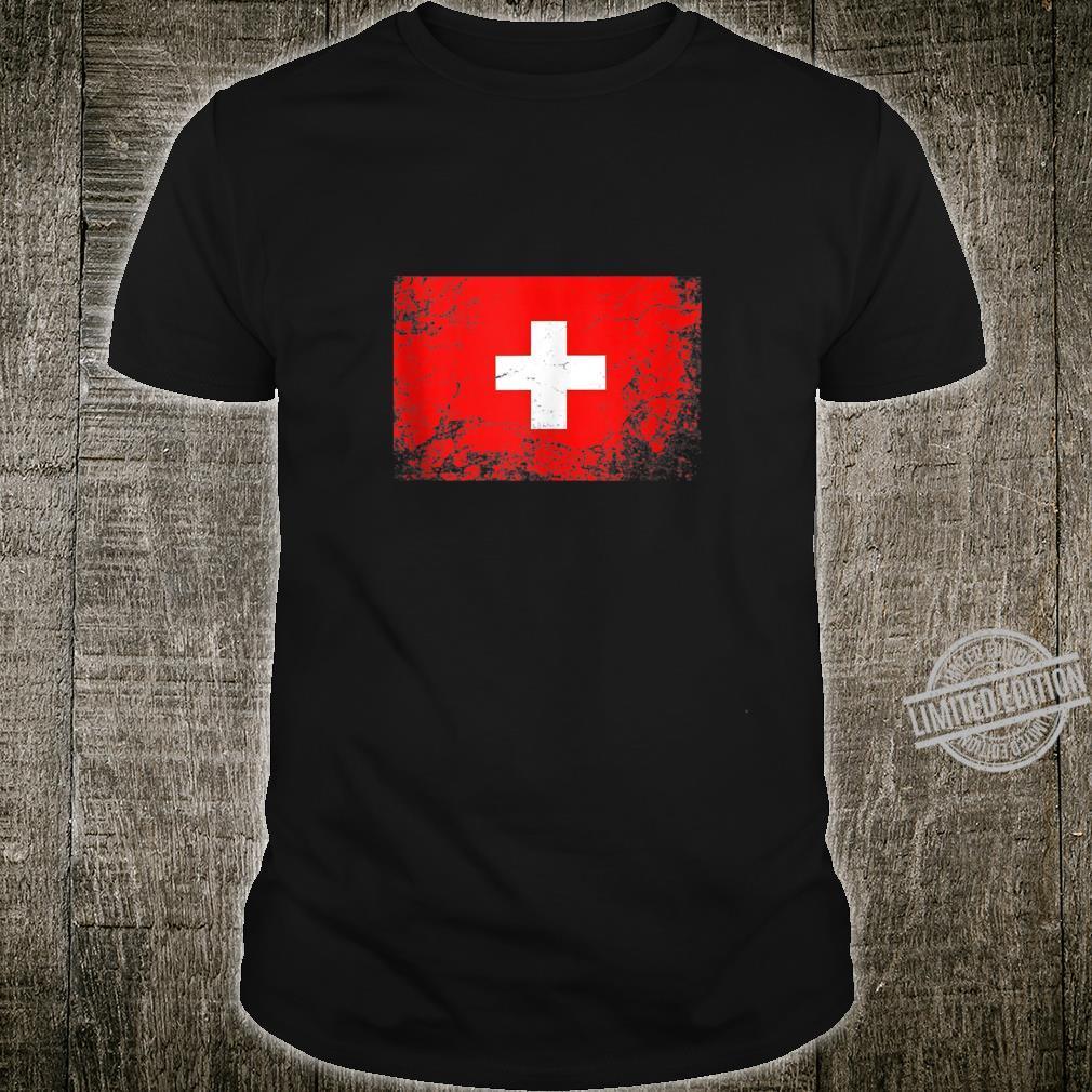 Switzerland National flag vintage Shirt