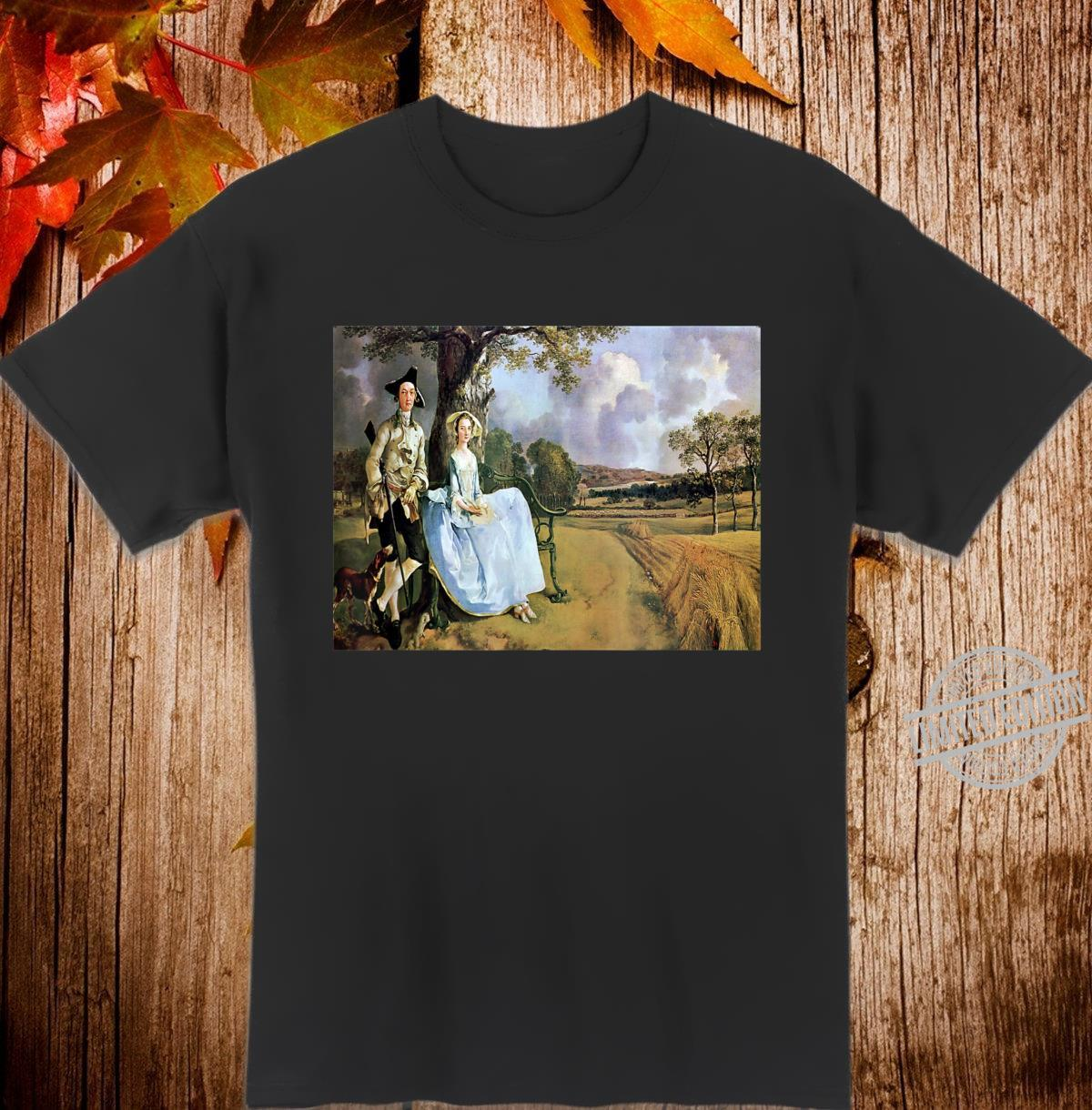 Thomas Gainsborough's Mr. and Mrs. Robert Andrews Shirt