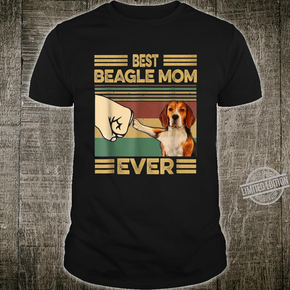 Vintage Best Beagle Mom Ever Dog for Mother's Day Shirt
