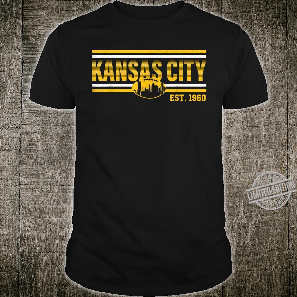 Vintage Kansas City Missouri Football Retro Kansan Pride Shirt