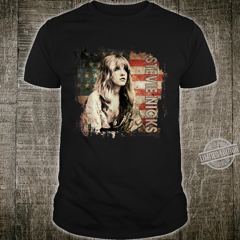 Vintage Stevie Nicks Love Music Retro Flag American Shirt