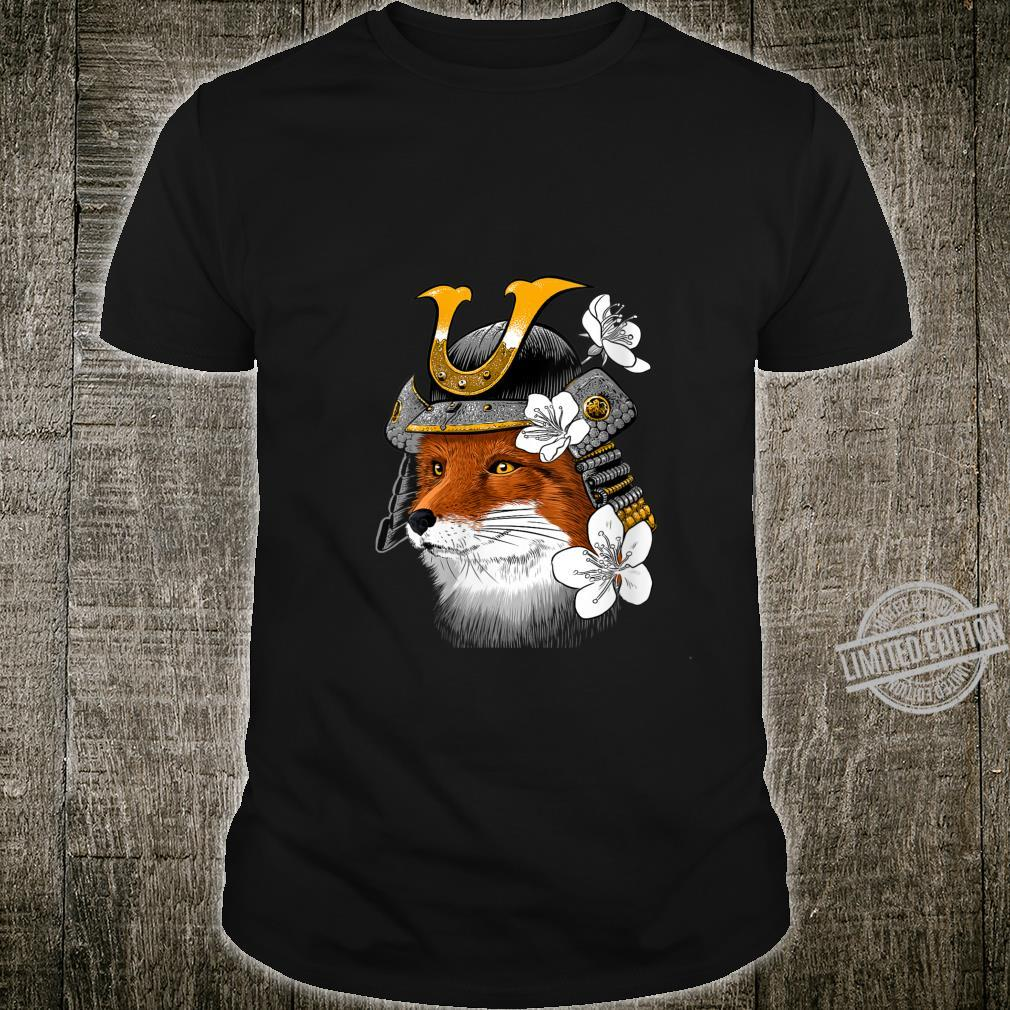 Womens Samurai Fox Shirt