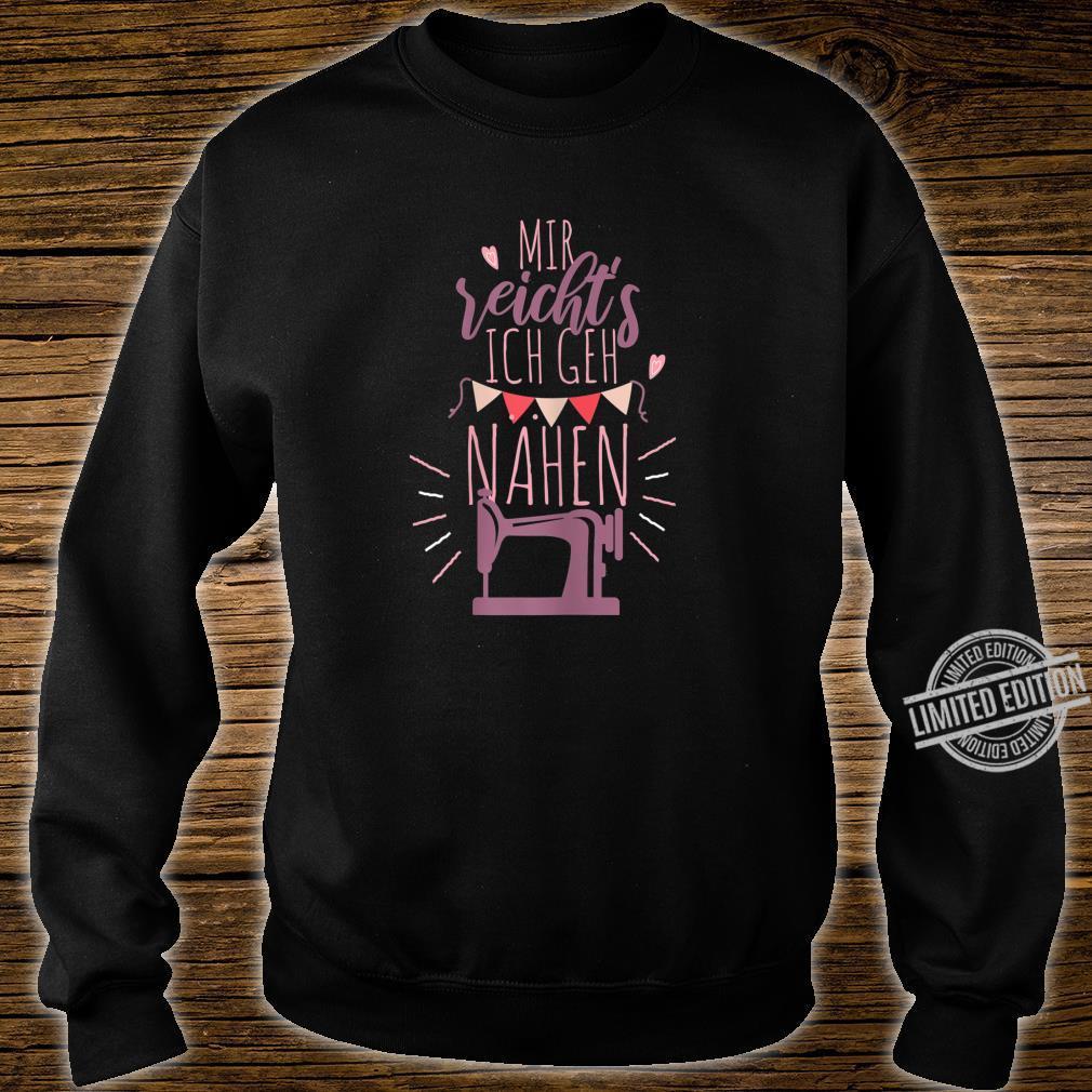 Women's Shirt with German Text Ich Gehh Sewing Shirt sweater