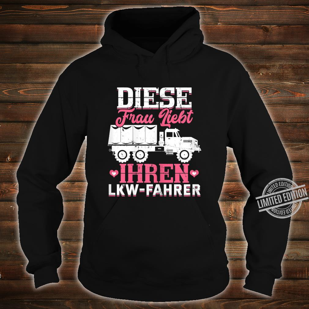 Women's Shirt with 'This Loves Your Truck Driver Trucker' Design Shirt hoodie