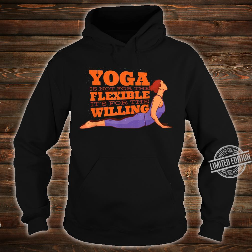 YOGA MOTIVATION Shirt hoodie