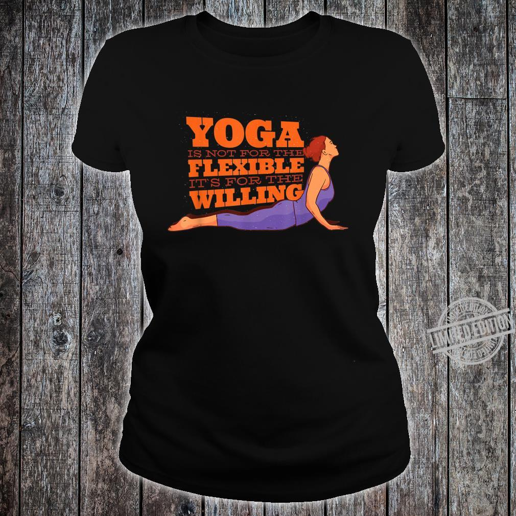 YOGA MOTIVATION Shirt ladies tee